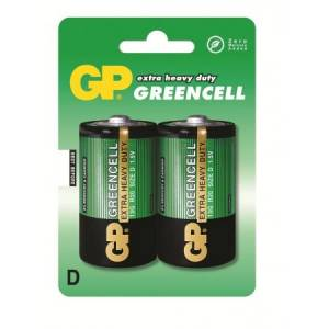 Patarei R20 D 1.5V Greencell GP 2tk