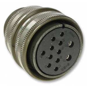 Connector, circular, size 18, 4way,MS3106A18-10S-RES
