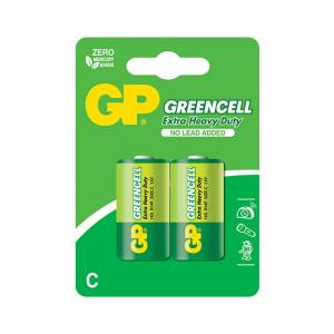 Patarei R14 C 1.5V Greencell GP 2tk