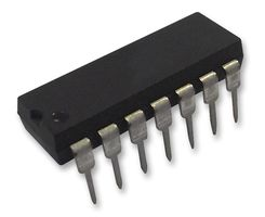Op amp, quad low noise, dip14, 470