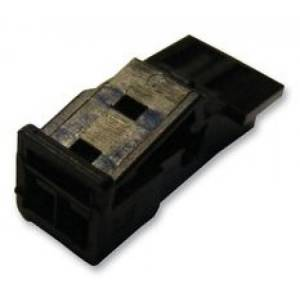 te connectivity - 1-1718333-1 - housing, socket, 2 way
