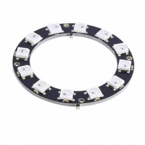 WS2812 RGB led moodul 12bit ring