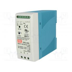 Pwr sup.unit: switched-mode; buffer; 40.02W; 13.8VDC; 13.8VDC, defektne