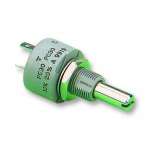 Potentiometer, log, 47k, 1.5w, 10%,PE30L0FL473KLB
