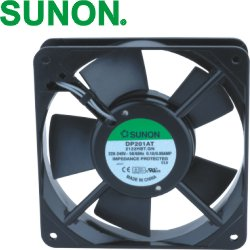 Ventilaator 120x120x25mm 230VAC 19W ball