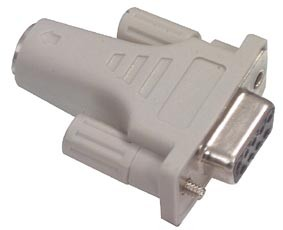 Hiire adapter DB9 pesa-PS/2 pesa