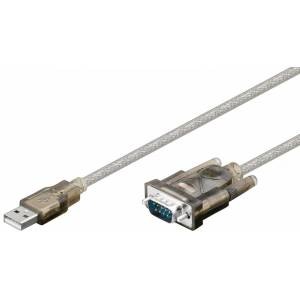 USB A-RS232 konverter 2m kaabel USB to serial