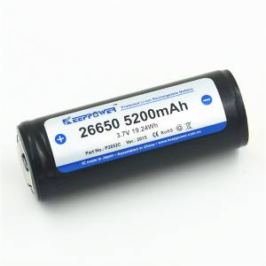 Aku Li-Ion 3.7V 5200mAh, Keeppower
