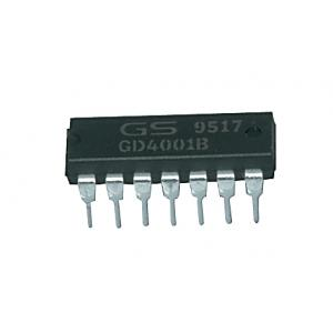 CD4001 =K561LE5 Quad 2-Input NOR Buffered B Series Gate