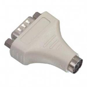 Hiire adapter PS/2 pesa-DB9 pistik AB401