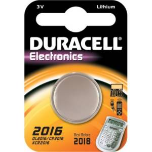 CR2016 Duracell liitium patarei 3V 20mm 1.6mm