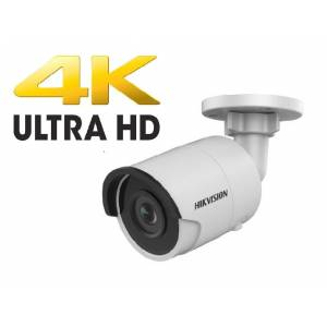 IP torukaamera 8M 4mm IR 30m IP66 HikVision
