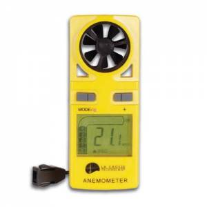 Anemometer (m/sec or km/hr) + bft and temp