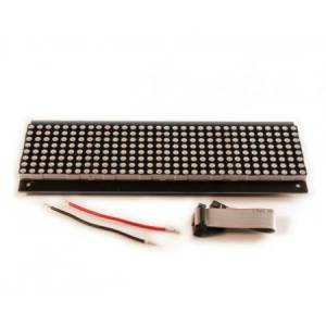 32X8 Red  LED Dot Matrix plaat P7.62
