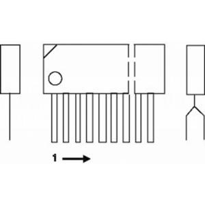 AN7158N - dual 7.5W audio power amplifier circuit