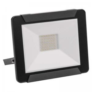 LED SMD prozektor 30W neutral 4000K 2400lm, must IP65 Ideo
