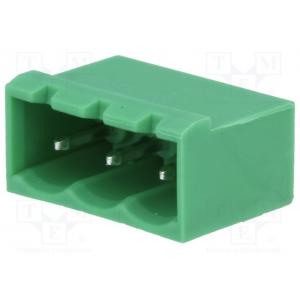 Pluggable terminal block; socket; male; 5.08mm; THT; ways:3