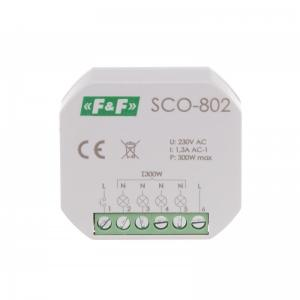 Dimmer; 230VAC; in mounting box; 1.5A; -25÷50°C; 350W