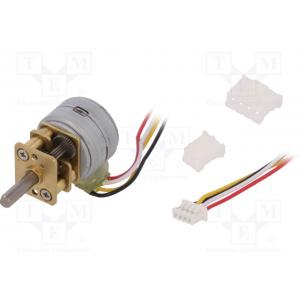 Motor: DC; stepper; 5÷12VDC; Shaft: D spring; max.58.