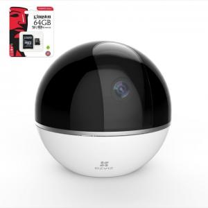 EZVIZ C6T IP pöördkaamera +64GB SD kaart, 2MP  WIFI