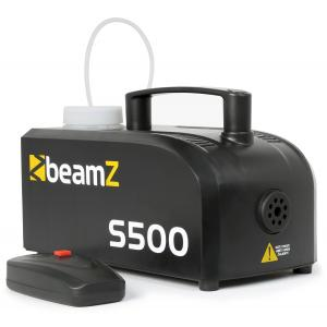Suitsumasin BeamZ S500P 500W must plastik 250ml vedelikku