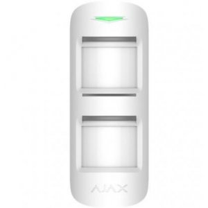 Ajax MotionProtect Outdoor White - Wireless Outdoor Motion Detector