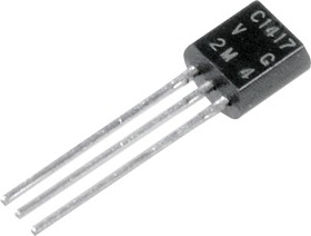 2SC1417 Si-N 20V 0.05A TO126