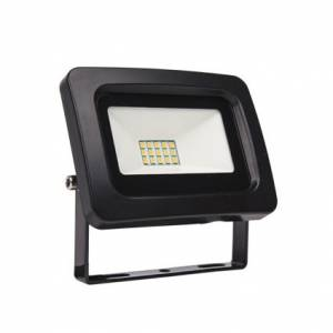 LED prozektor SMD 10W 4000K 800lm, must IP65