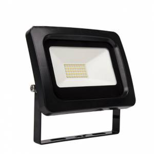 LED prozektor SMD 30W 4000K 2400lm, must IP65