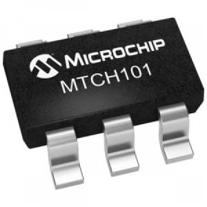 MTCH101-I/OT capacitive sensor SOT23-6 logic