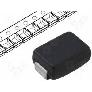 Diode: transil; 600W; 24.6V; 18.5A; unidirectional; DO214AA
