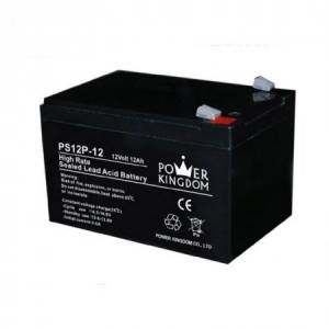 Pliiaku 12V 12Ah 151*98*95mm klemm 6.35mm Power Kingdom, Ironcell