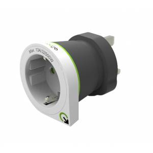 Reisiadapter UK pistik EUR pesa Q2Power Europe to UK