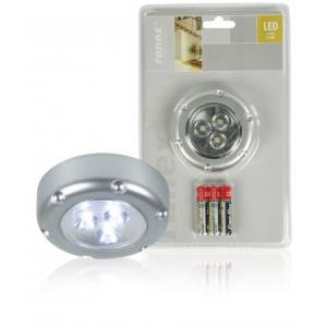 Lamp 3-LED ümmargune 70mm 60mW 3*AAA