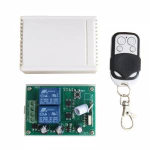 Wireless RF Relay Receiver Module and Remote Controls For DC Motors