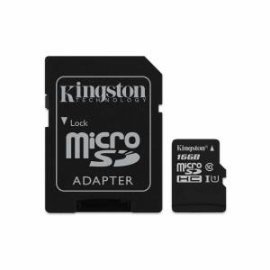 Mälukaart 16GB Micro SD Class10 Kingston Canvas Select
