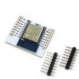 ESP8266 WiFi serial port moodul + vaheplaat konstruktor