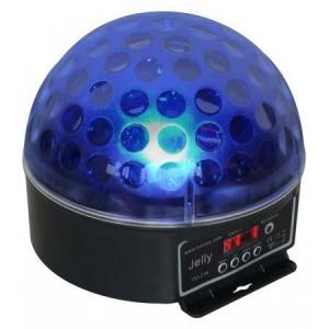 Valgusefekt MAGIC JELLY DMX 6*3W R+G+B LED