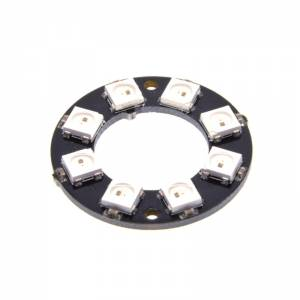 WS2812 RGB led moodul 8bit ring