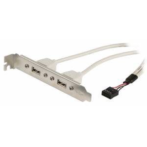 2*USB-A/10pin port paneeli