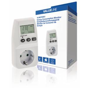 Energy Consumption Monitor 3600 W, Valueline