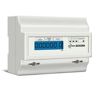 Velbus - Three-phase four-wire electronic DIN rail kWh meter - 7 din modules