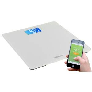Smart bathroom scale with android or ios app