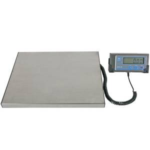 Low profile parcel scale - 120kg / 100g