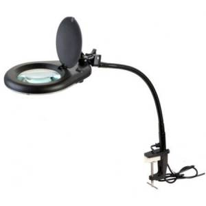 Suurenduslamp 80-led 7W 5-dioptriat, 127mm, must