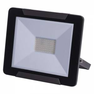 LED SMD prozektor 50W neutral 4000K 4000lm, must IP65 Ideo