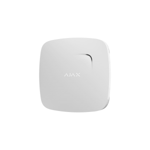 AJAX FireProtect Plus- Wireless Fire Detector with Temperature and Carbon Oxide Sensors White