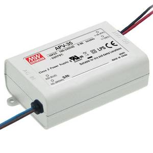 Toiteplokk 12VDC 3A 36W SMPS Mean Well APV-35