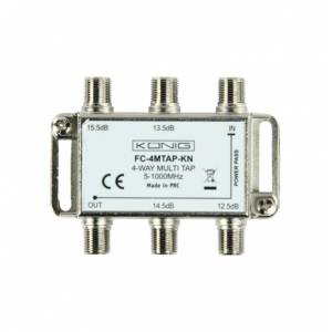 4-way multiTAP -13..-16dB