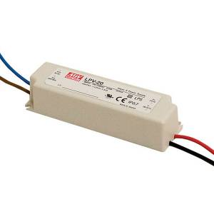 Toiteplokk 5VDC 3A 15W IP67 Mean Well LPV-20